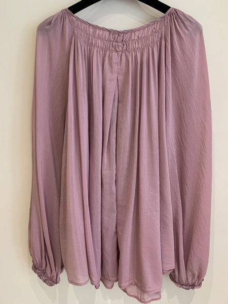Forte-Forte Blouse 8248 Lilas