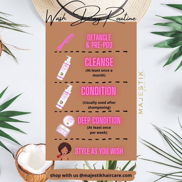 Wash Day Routine With Us!