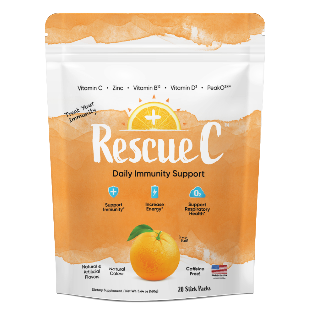 RescueC 20 Count Stick Pouch - Orange Blast