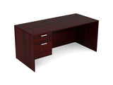 36x71 Kai Desk w/ Single Suspended Pedestal Greenguard Gold Certified