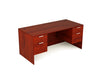 36x71 Kai Desk w/ Double Suspended Pedestal Greenguard Gold Certified