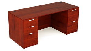 30x60 Kai Desk w/ Double Pedestal Greenguard Gold Certified