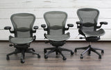 Graphite Herman Miller Aeron Task Chair