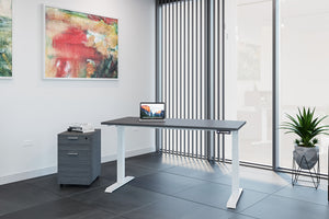 "30""x72"" iRize Electric Standing Desk"