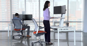 Humanscale Quick Stand Height Adjustable Workstation ~Pre-Owned~