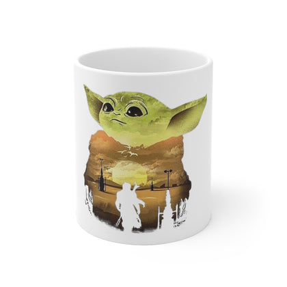 Baby Yoda Ceramic Coffee Mug