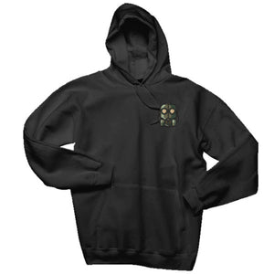 The Official Lockdown- Black Cotton Hoodie - The Official Lockdown