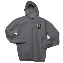 Load image into Gallery viewer, The Official Lockdown- Charcoal Grey Cotton Hoodie - The Official Lockdown