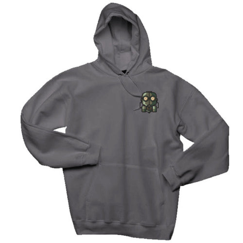 The Official Lockdown- Charcoal Grey Cotton Hoodie - The Official Lockdown