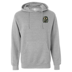 The Official Lockdown- Ash Grey Cotton Hoodie - The Official Lockdown