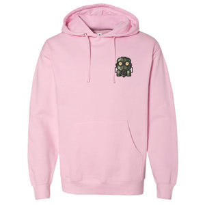 The Official Lockdown- Light Pink Cotton Hoodie - The Official Lockdown