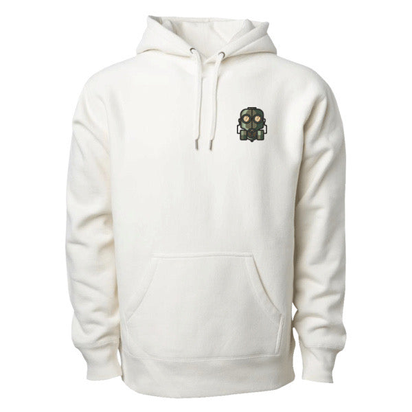 The Official Lockdown- Premium Bone Hoodie - The Official Lockdown