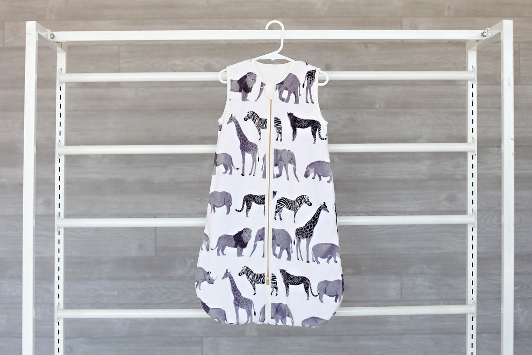 Safari Wearable Minky Blanket