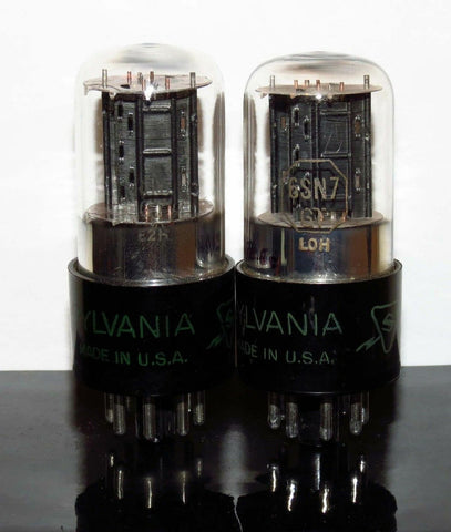 Driver Tube: Sylvania 6SN7GT NOS Matched pair