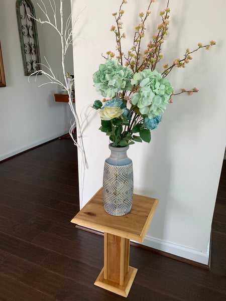 "Plant Stand - Occasional Table 18"" Tall - Choice of Finish"