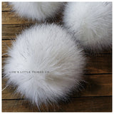 LIMITED Polar Bear Faux Fur Pom