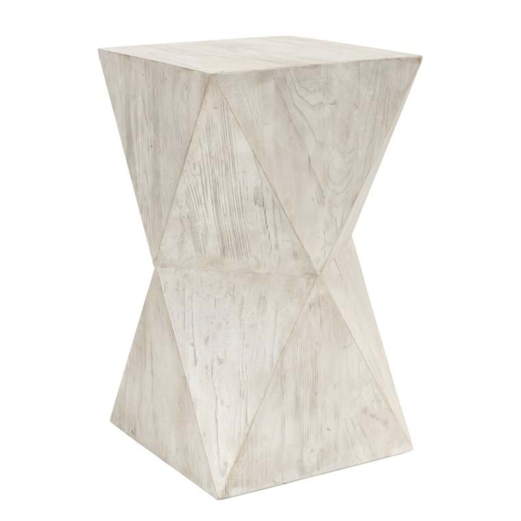 Milo Side Table Antique White