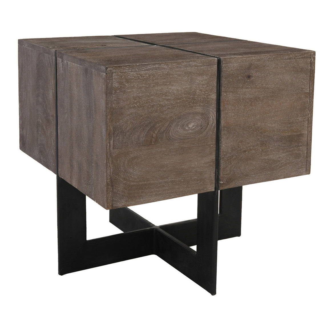 Desmond Square End Table Taupe