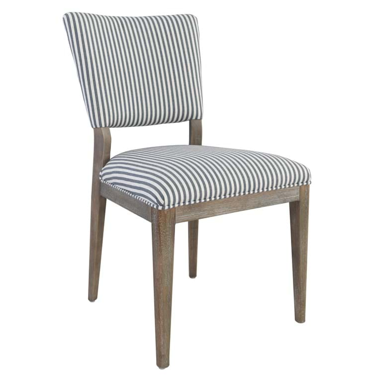 Phillip Upholstered Dining Chair Striped