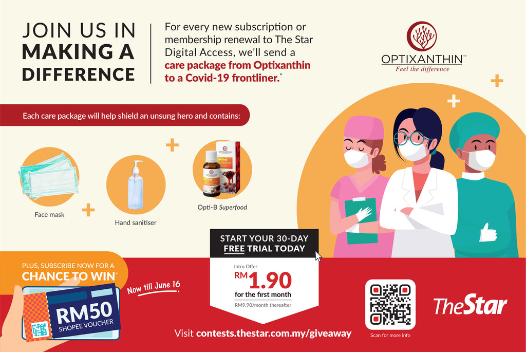 Optixanthin Collaborates with The Star and Hospital Sungai Buloh