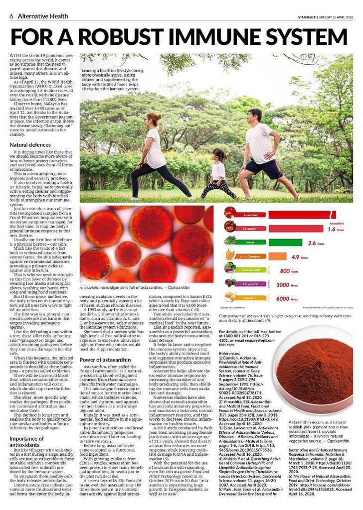 The Star Paper: For A Robust Immune System