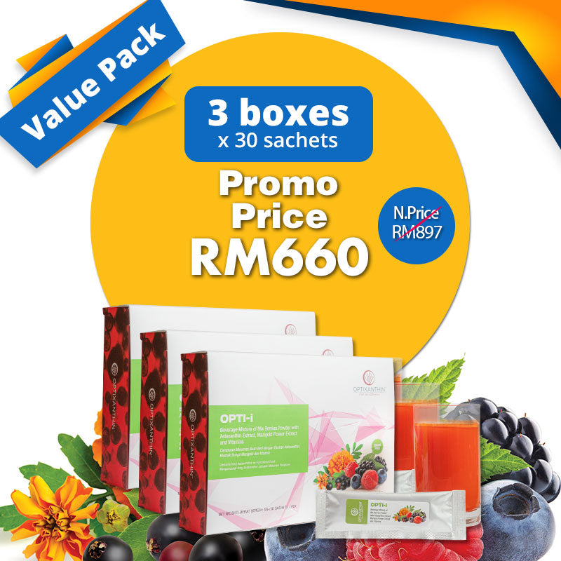 [Value Pack] Buy 3 OPTI-i [5Gx30 Sachets] for RM660