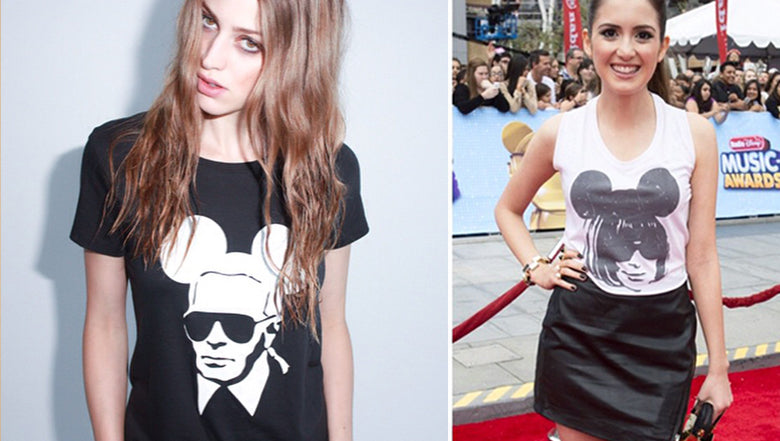 Red carpet mouse t shirt