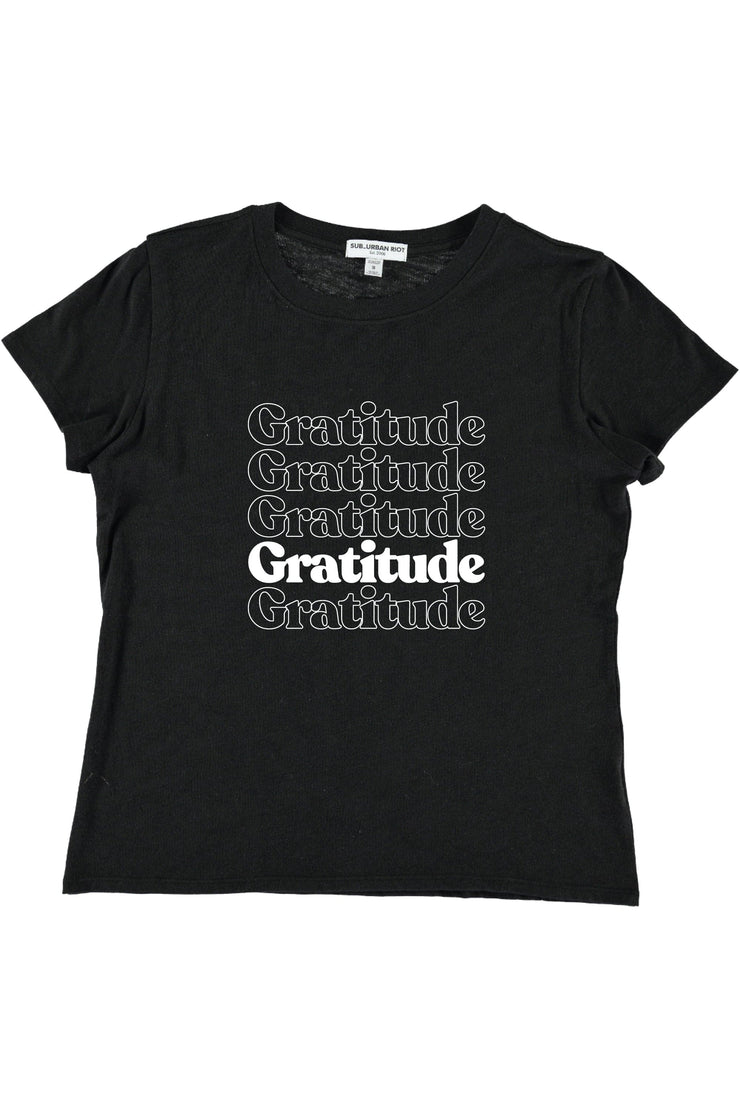 GRATITUDE YOUTH SIZE LOOSE TEE PRE-PACK 6 TEES