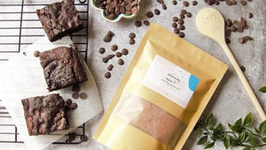Deliciously Vegan Brownie Baking Mix