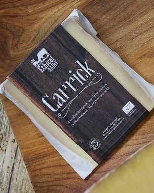 The Ethical Dairy Organic 'Carrick' Raw Milk Hard Cheese
