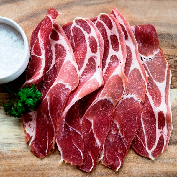 Puddledub Dry Cured Smoked Shoulder Bacon, 200g