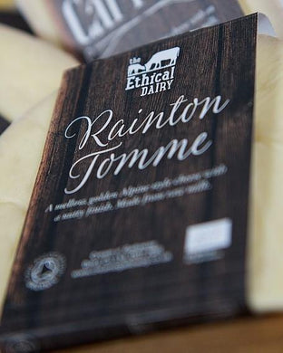 The Ethical Dairy Organic 'Rainton Tomme' Raw Milk Cheese