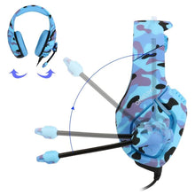 Load image into Gallery viewer, Camouflage Gaming Headset with Mic - Headset