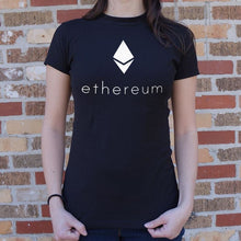 Load image into Gallery viewer, Ethereum T-Shirt (Ladies) - Ladies T-Shirt