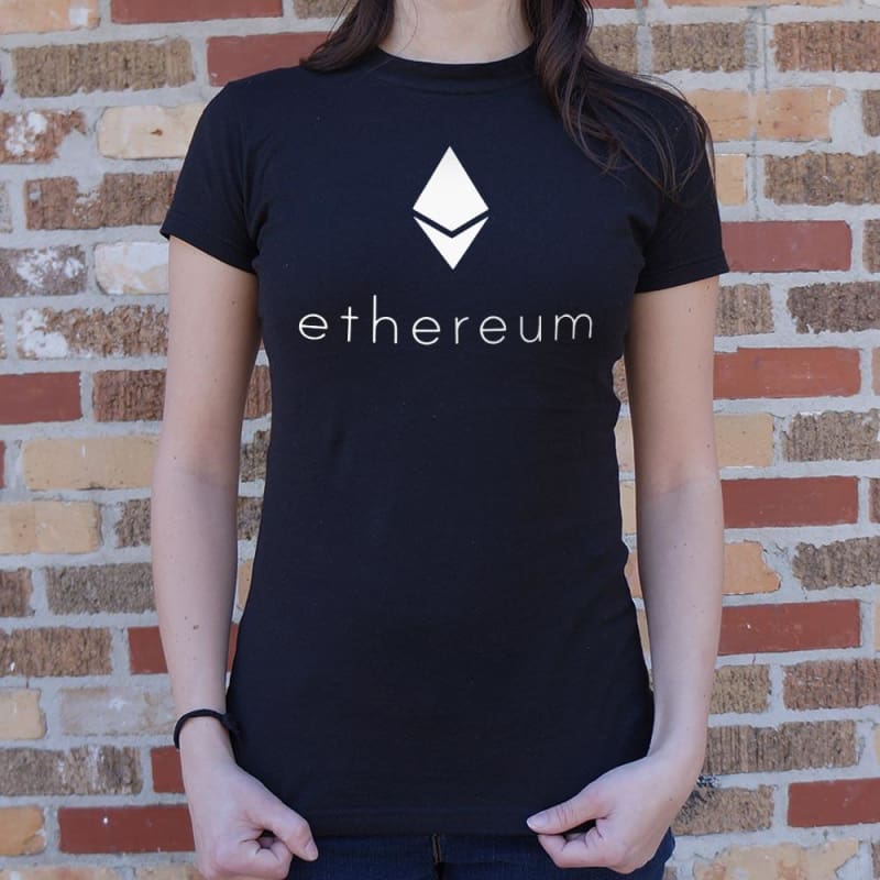 Ethereum T-Shirt (Ladies) - Ladies T-Shirt
