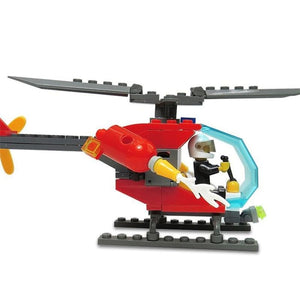 Firefighter Helicopter DIY 89pcs - Toys & Hobbies