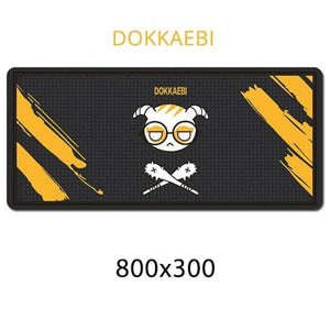 Gamer Mouse & Keyboard Pad - DOKKAEBI - Mouse Pad