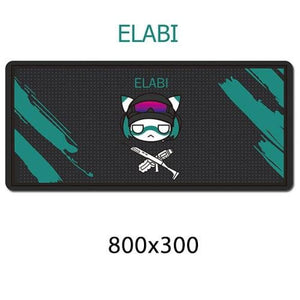 Gamer Mouse & Keyboard Pad - ELABI - Mouse Pad