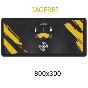 Gamer Mouse & Keyboard Pad - JAGERBI - Mouse Pad