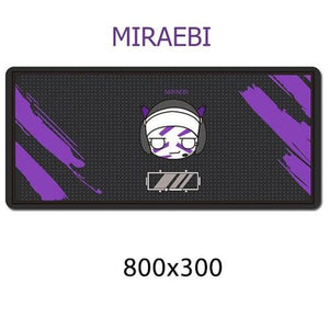 Gamer Mouse & Keyboard Pad - MIRAEBI - Mouse Pad