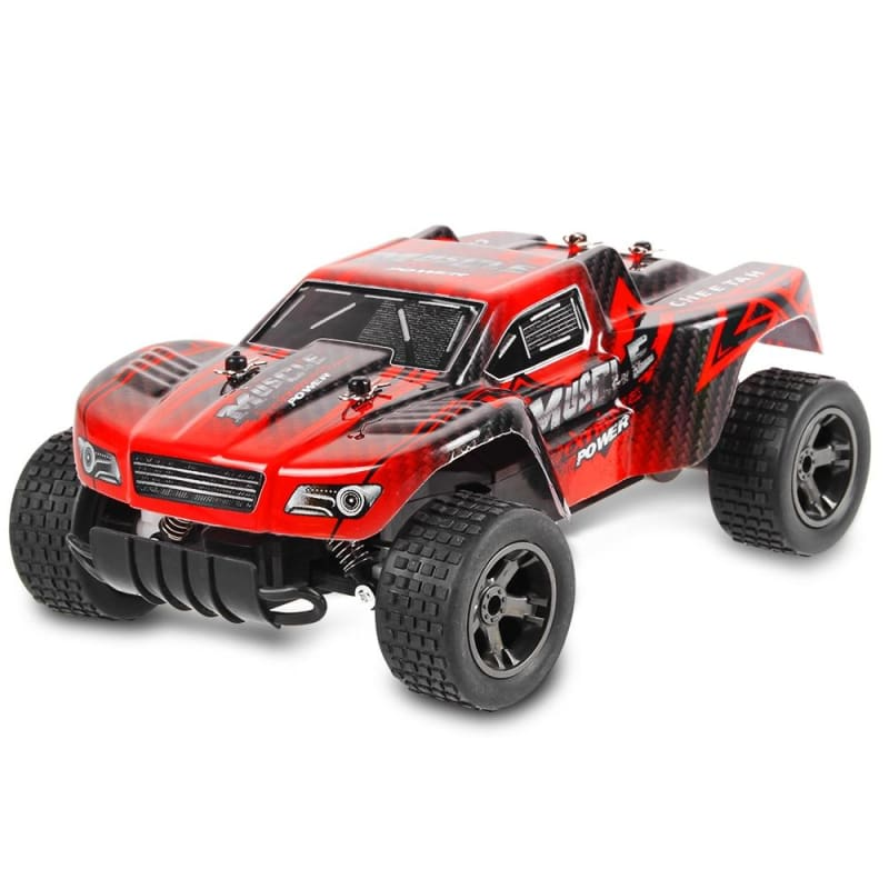 Impact-resistant Racing Car - RED - RC Cars