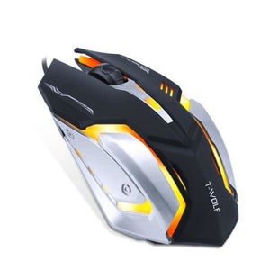 Pro Gamer Silent Mouse - V5 Black - Mice