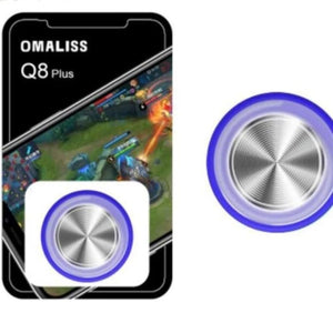 Round Game Joystick For Mobile - blue - Controllers