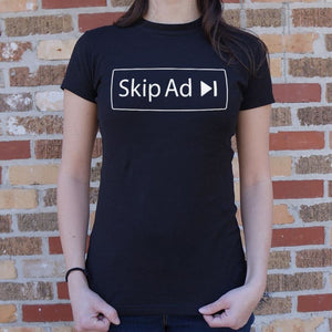 Skip Ad T-Shirt (Ladies) - Ladies T-Shirt