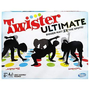 Twister Ultimate: Bigger Mat More Colored Spots Family Party Game - Board Games