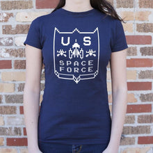 Load image into Gallery viewer, US Space Force T-Shirt (Ladies) - Ladies T-Shirt