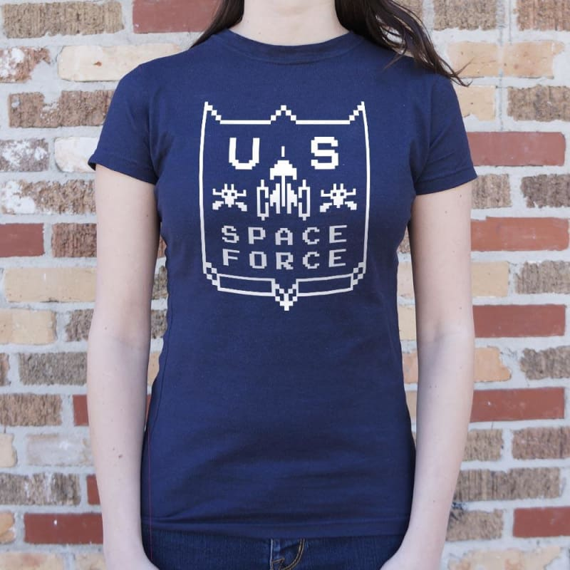 US Space Force T-Shirt (Ladies) - Ladies T-Shirt