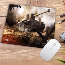 Load image into Gallery viewer, Video Gaming Tanks Style Mouse Pad - 001 - Mouse Pad