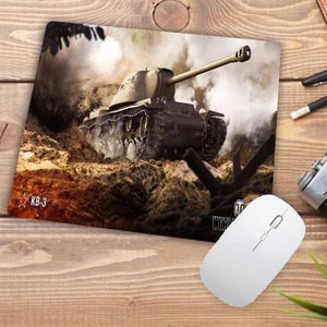 Video Gaming Tanks Style Mouse Pad - 001 - Mouse Pad