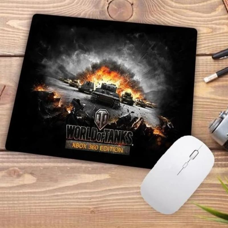 Video Gaming Tanks Style Mouse Pad - 002 - Mouse Pad